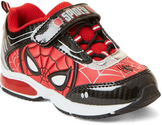 Spiderman Spider Man (Toddler Boys) Black & Red Character Light-Up Sneakers