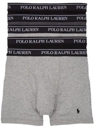 Polo Ralph Lauren Classic Fit Cotton Boxer Brief 5-Pack