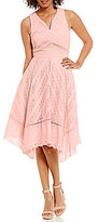 Antonio Melani Nat Eyelet Shirting Sleeveless Dress