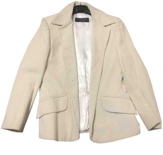 Max Mara Weekend Ecru Cotton Jackets