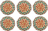 The Braided Rug Company - Coasters Set of 6 - Carnival