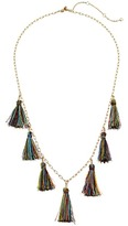 Rebecca Minkoff Kaleidoscope Tassel Layering Necklace Necklace