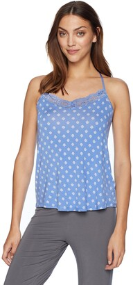 PJ Salvage Women's Feelin' Blue Printed Cami