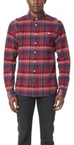 Scotch & Soda Lightweight Brushed Flannel Shirt