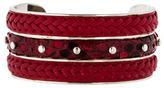 Tod's Leather Cuff Bracelet