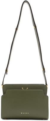 Marni Green Trunk Reverse Bag