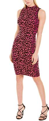 Milly Cheetah Sweaterdress