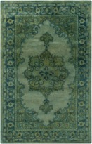 The Well Appointed House Surya Mykonos Rug in Green-Available in a Variety of Sizes