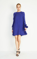 Nicole Miller Lera Bell Sleeve Dress