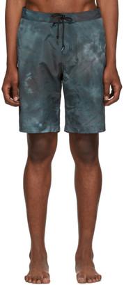 John Elliott Navy Solar Board Shorts