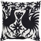 Aniza Oto Hand-Embroidered Feather Pillow
