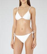 Reiss Phoenix T Ribbed Bikini Top