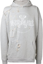 Unravel Project distressed hoodie