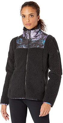 Spyder Boulder Full Zip Fleece Jacket (Black) Women's Coat