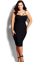 City Chic Plus Size Women's 'Undress Me' Dress