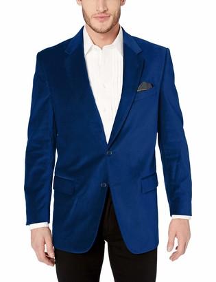 U.S. Polo Assn. Men's Portly Velvet Sport Coat