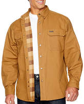 Smith Workwear Smith Canvas Flannel Lined Work Shirt