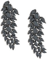 Iosselliani 'Black On Black Memento' clip-on earrings