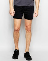 Religion Short Denim Shorts
