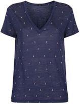 Rails Anchor Print Cara T-Shirt