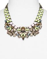 BaubleBar Azurine Bib Necklace, 17