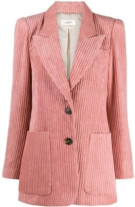 Etoile Isabel Marant Daleyo oversized ribbed jacket