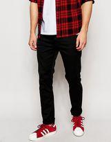 Carhartt Rebel Jeans In Slim Fit - Black