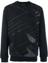 Diesel Black Gold 'Sal-Skyline' sweatshirt - men - Cotton/Nylon - S
