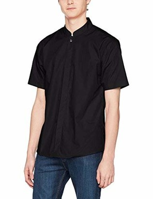 Kustom Kit Men's Mandarin Collar Shirt Business