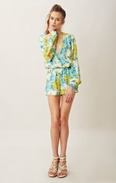 Blu Moon LONG SLEEVE BOHO ROMPER