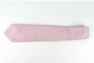 Louis Vuitton Pink Silk Ties