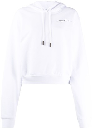 Off-White Puzzle Arrow cropped hoodie