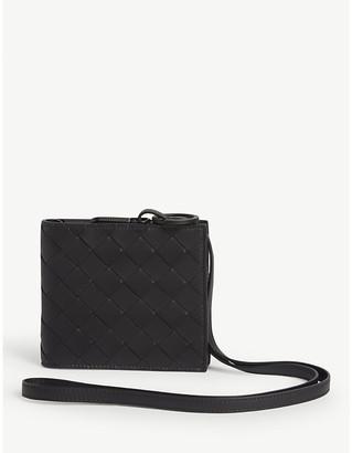 Bottega Veneta Intrecciato wallet with strap