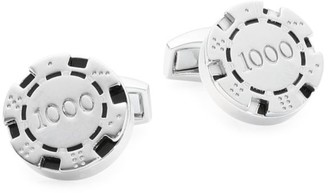 Tateossian Poker Chip Cuff Links