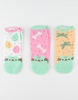 3 Pack Pusheen Womens Socks