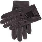 Dents Brown Peccary Leather Driving Gloves