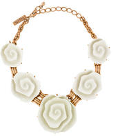 Oscar de la Renta Floral Collar Necklace