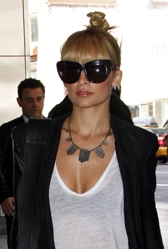 House Of Harlow Two Tone Engraved Five Station Necklace as Seen On Nicole Richie