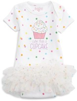 Infant Girl's Sara Kety Baby & Kids Cuter Than A Cupcake Tutu Bodysuit