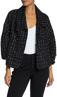 Laundry by Shelli Segal Dotted Boucle Jacket