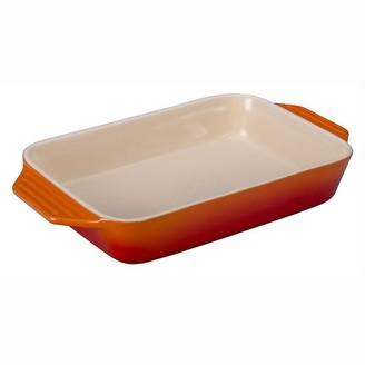 Le Creuset 3L Rectangular Stoneware Dish Flame