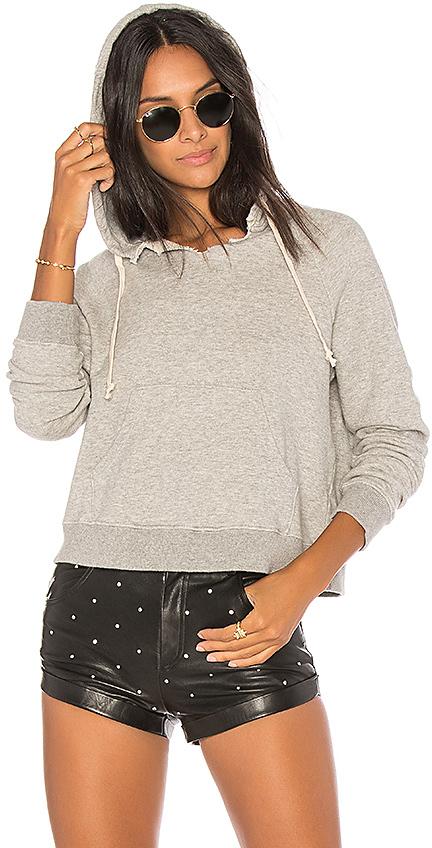 Mother The Square Tear Hood Sweatshirt