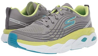 Skechers Max Cushion - 17691 (Gray/Lime) Women's Shoes