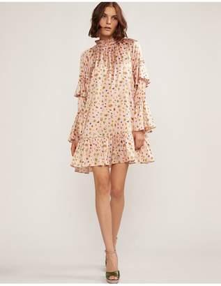 Cynthia Rowley Penny Ruffle Sleeve Dress