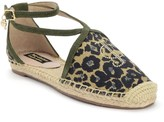 Juicy Couture Lauralie Lace-Up Espadrille Flat