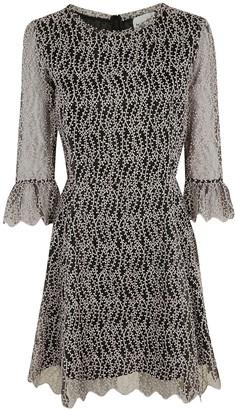 Blumarine Be Lace Detail Short Dress