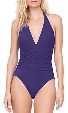 Gottex Divine Halter One Piece Swimsuit
