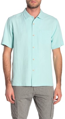 Tommy Bahama Weekend Tropics Short Sleeve Original Fit Silk Shirt