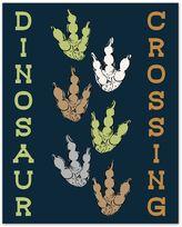 "Designs Direct ""Dinosaur Crossing"" Canvas Wall Art"