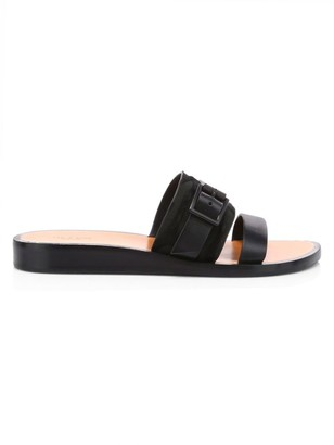 Rag & Bone Arley Calf Hair & Leather Flat Sandals